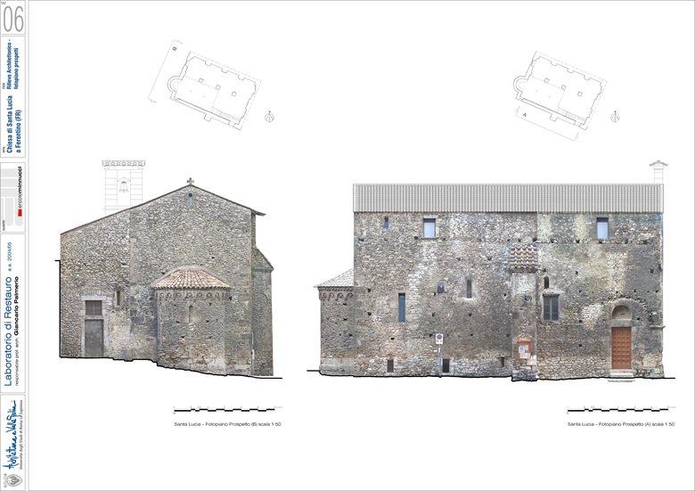Restauro della facciata della Chiesa di Santa Lucia di Ferentino