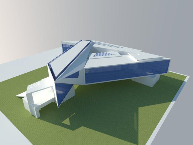The Triangular House