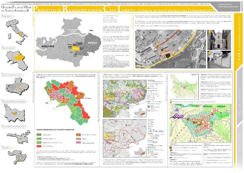 Progetto di riqualificazione Casa Loreto - Comune di Sant'Angelo dei Lombardi (AV)