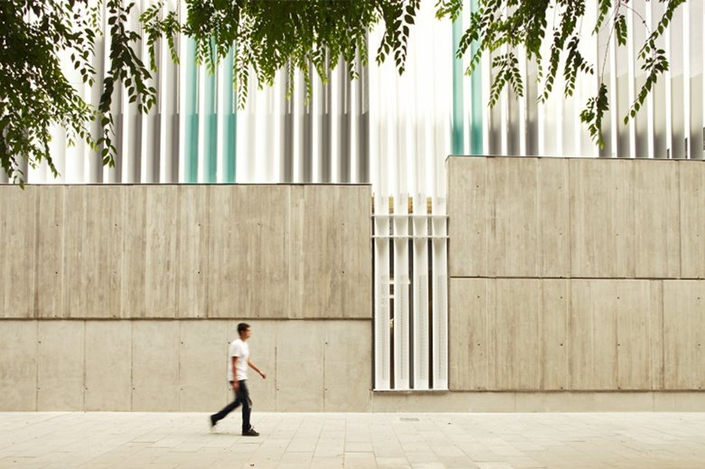 MultiFacility Municipal Building in Sant Martí, Barcelona