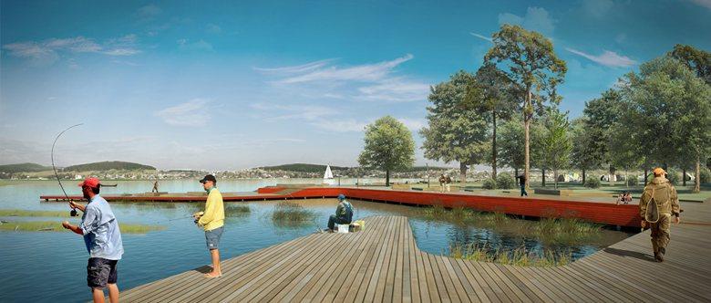 The concept of Chernoistochinsk Pond development