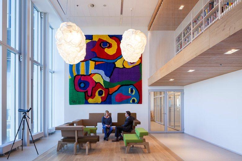 Interior municipal offices De Rotterdam