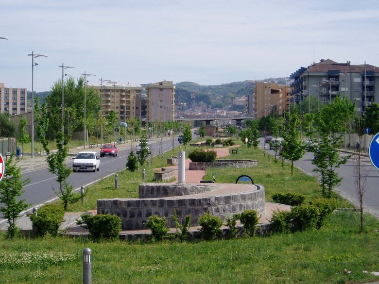 Viale Parco a Cosenza
