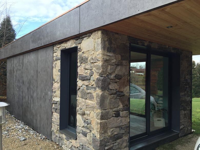 Bureau de jardin - Extension de maison