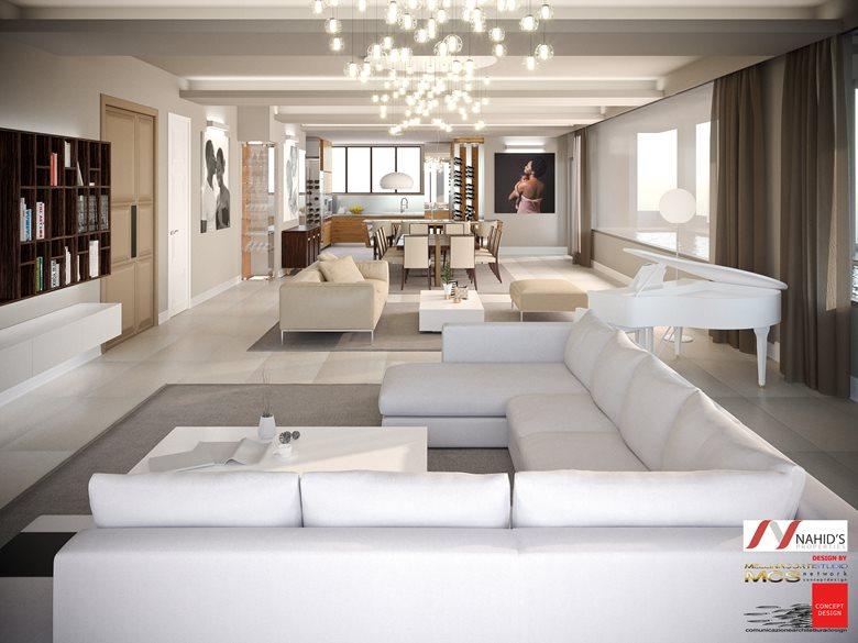 Progettazione e Realizzazione Villa, Area di interesse Soggiorno ...