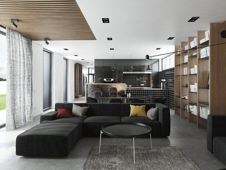 "Interior ""M-House 'II"""