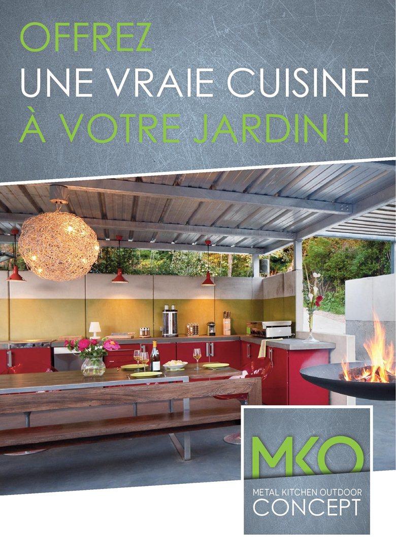 Metal Kitchen Outdoor
