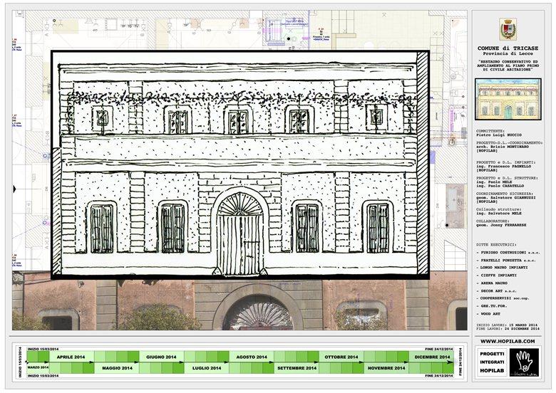 Casa Nuccio_restauro ed ampliamento al piano primo, edificio di inizio '900