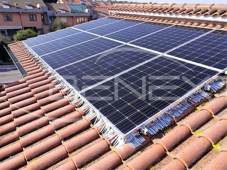 Impianto fotovoltaico da 3,6 kW presso privato