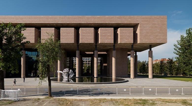 Tam Tsinghua Art Museum Mario Botta Architetti