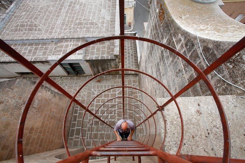 """Il restauro della Basilica """"Santa Maria della Vittoria """" a San Vito dei Normanni."""