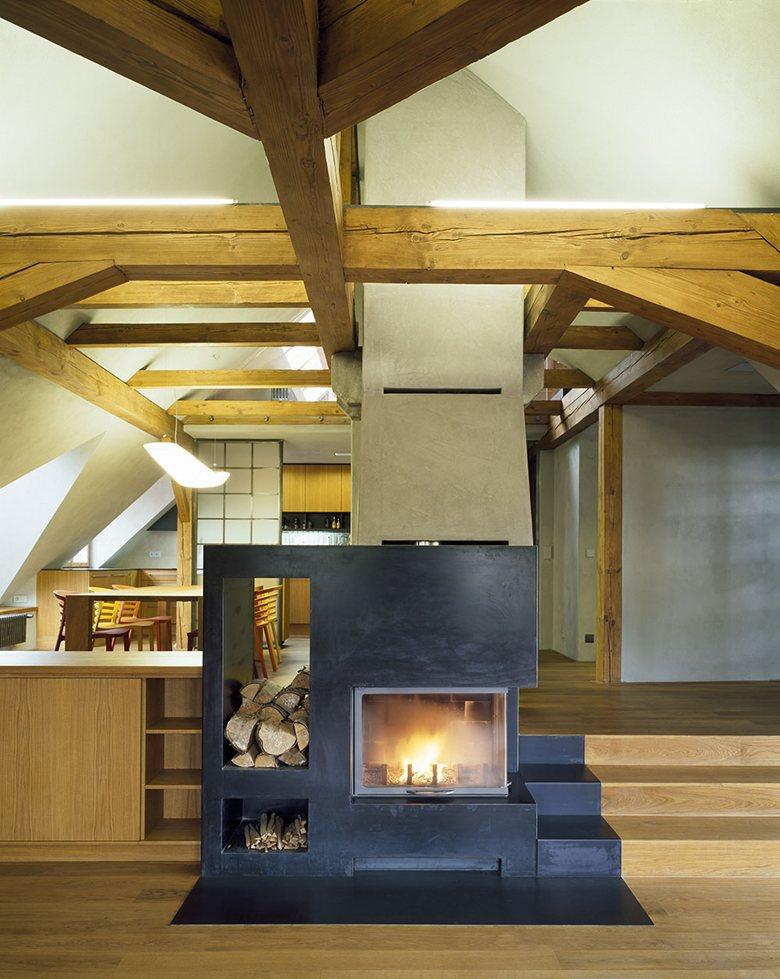 Loft Conversion and Interior of Apartment