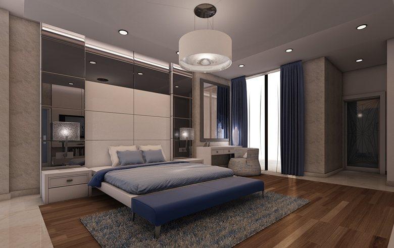 Contemporary apartment, Delhi