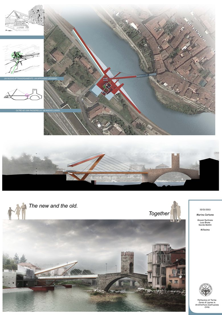 Design of a pedestrian bridge system