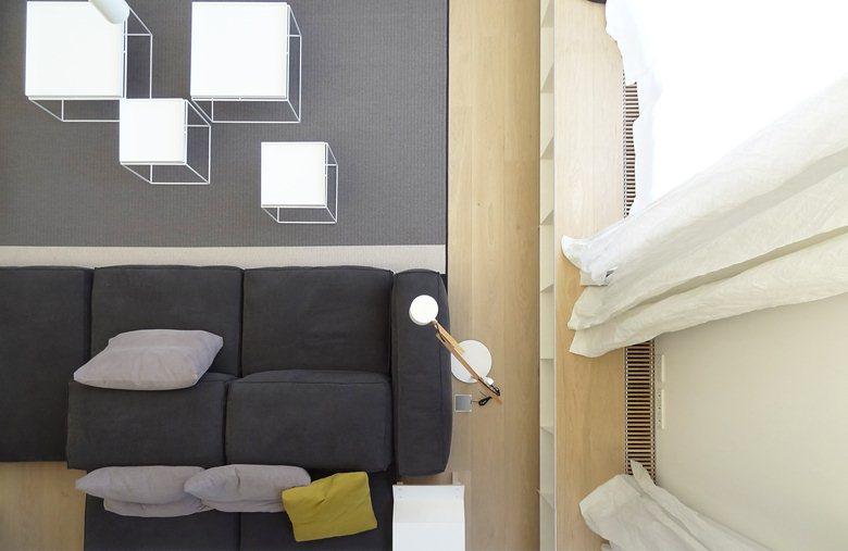 Loft3. Located in Poblenou in Barcelona. Use: housing