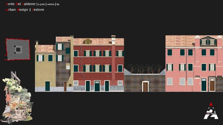 Urban Design - Restore - Corte del Calderer - San Polo Venezia