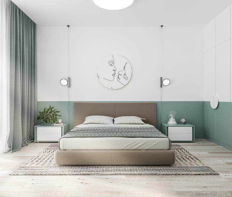 Mimimalistic bedroom