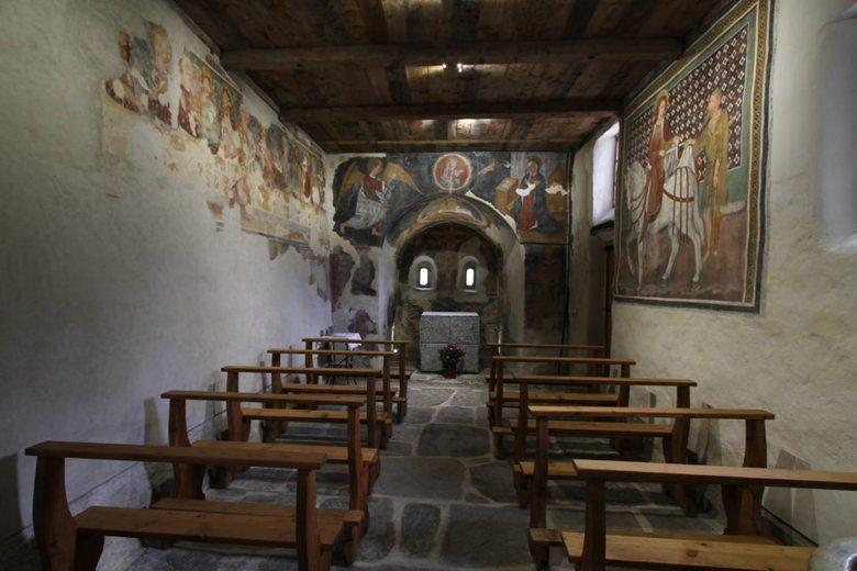 Illuminazione a LED dell'Oratorio di San Martino