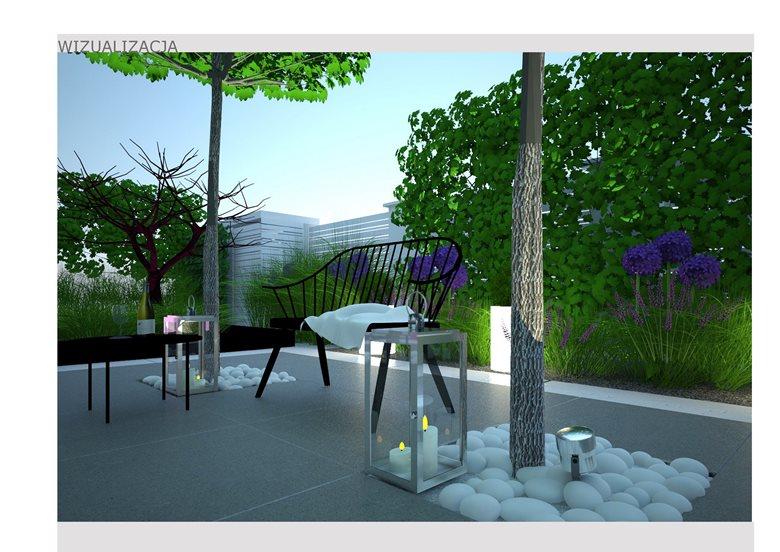 Contemporary Modern Small City Urban Garden Design Anna Skorupska