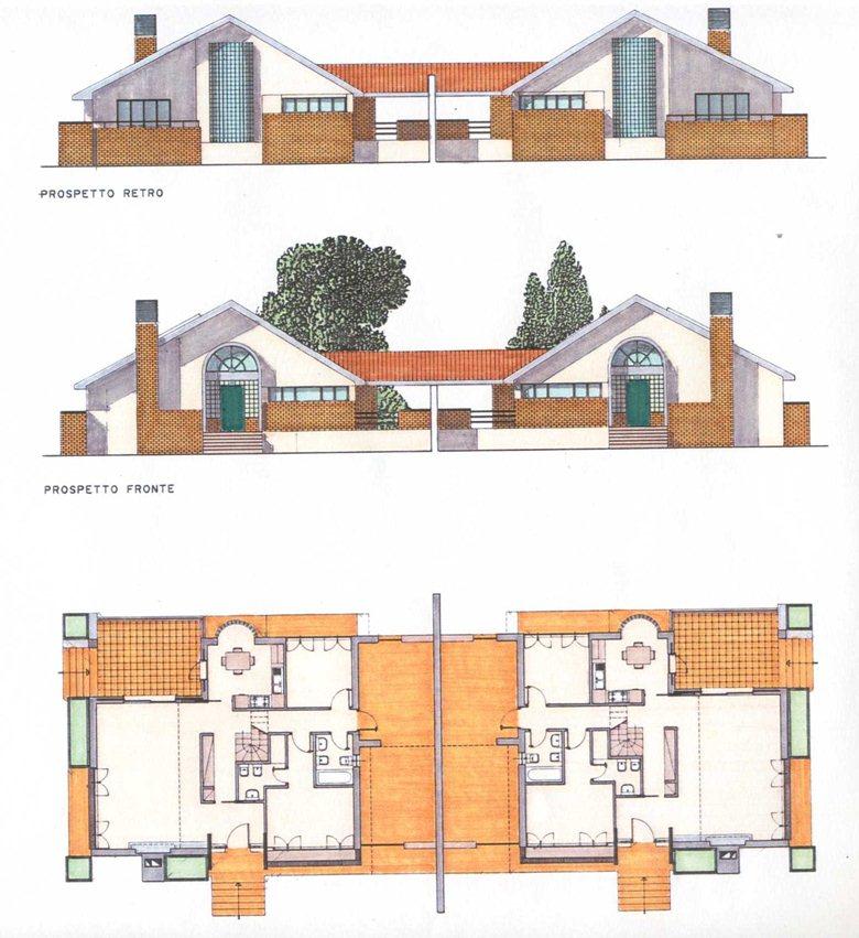 casa bifamiliare a Manziana