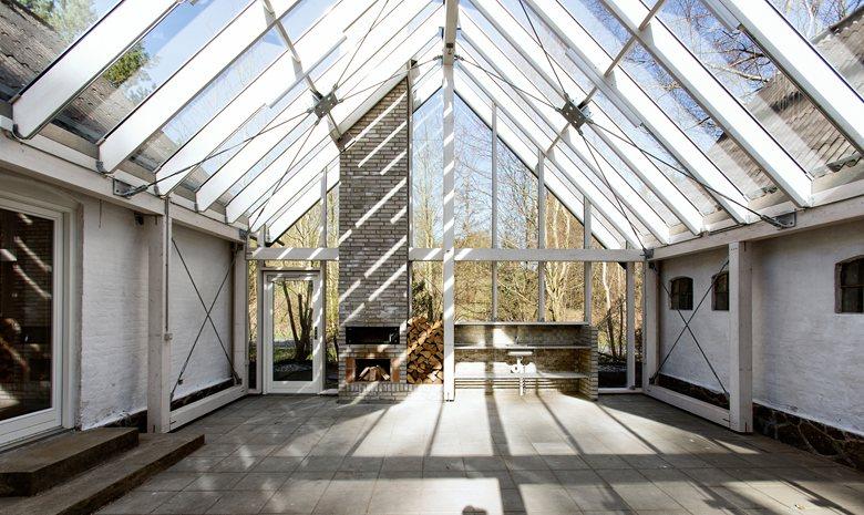 Nøjkærhus Culture House - rebuilt scout facilities