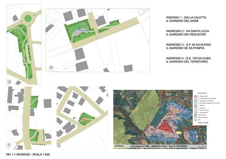 Riqualificazione del centro urbano - Ingressi