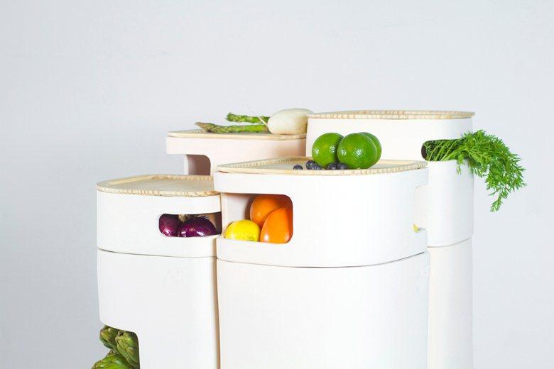 OLTU Storage vegetables out of the fridge