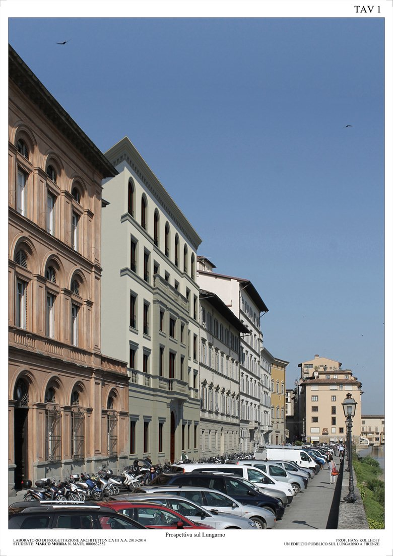 A new Public Building on Lungarno Torrigiani