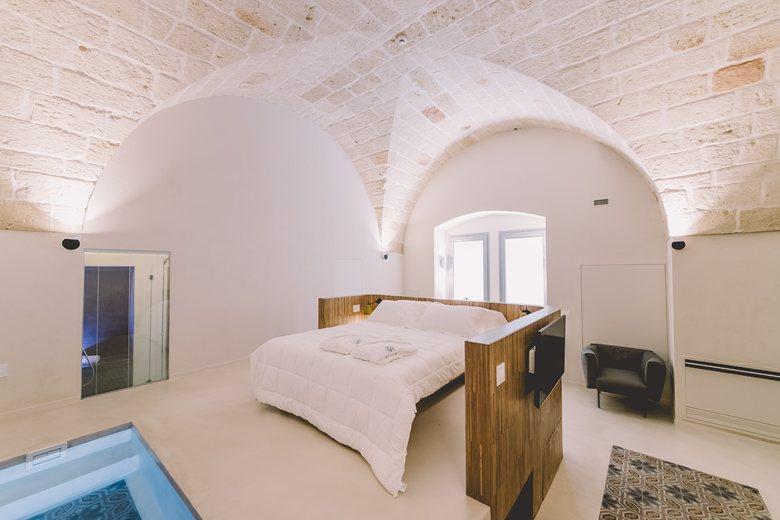 Progetto resort Cinquevite Rooms & Pool