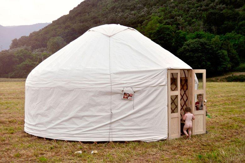 Yurta Kazaka, 5m, nomade