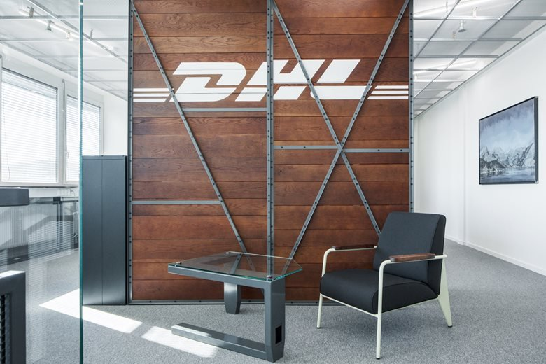 Redesign of office spaces - DHL Supply Chain Jažlovice