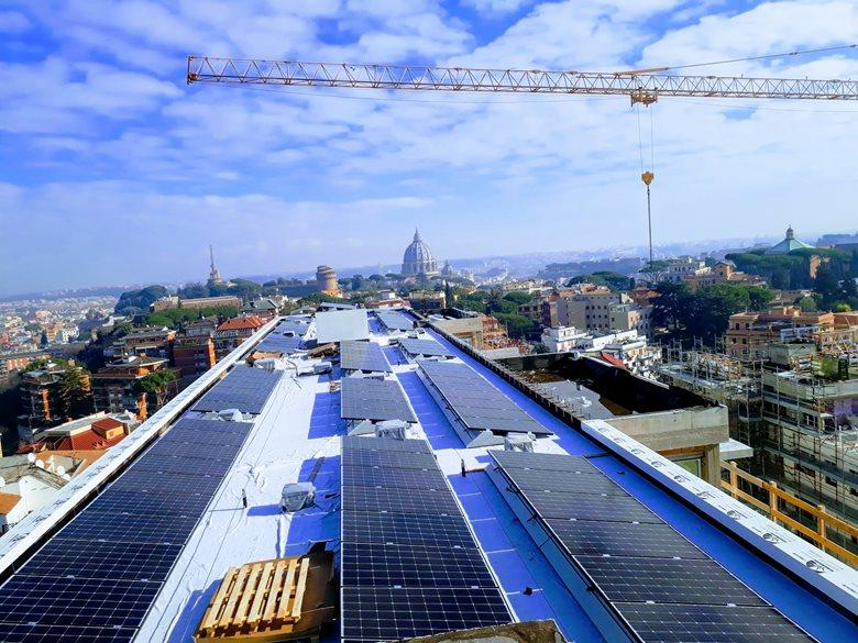 Impianto Fotovoltaico su nuova costruzione