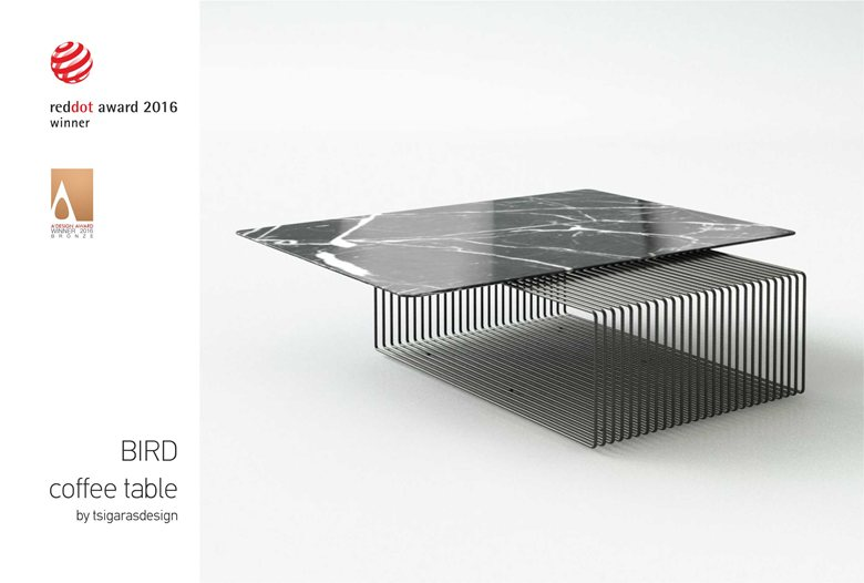 Bird Coffee Table Red Dot Design Award 2016 2017 And A Design