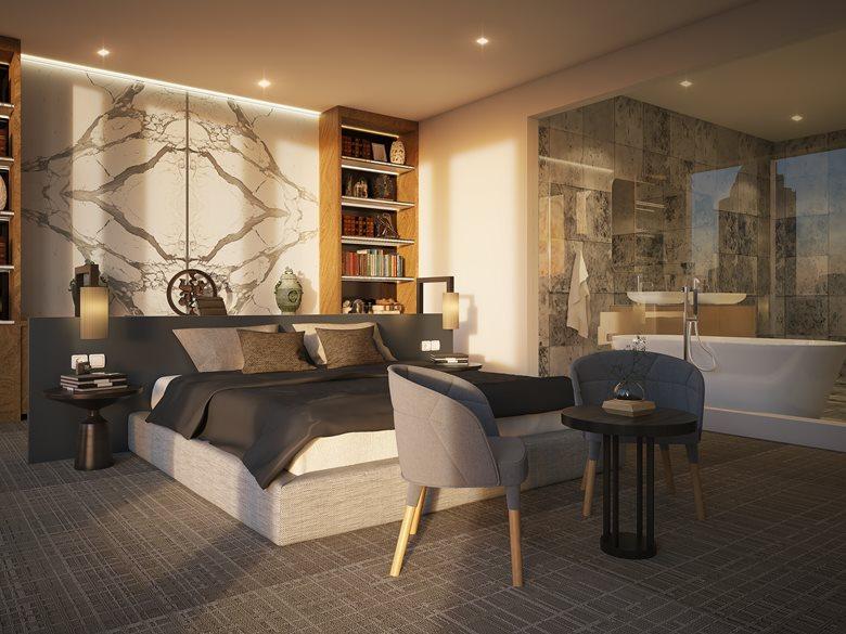 Master Bedroom rendering