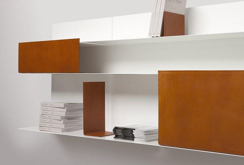 Chocolate bookcase
