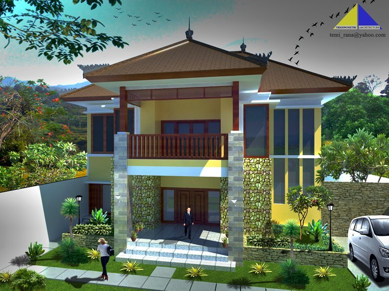 Modern Contemporary House Of Bali