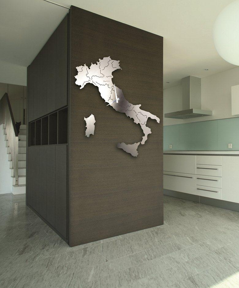 complementi arredo design orologio muro parete italia