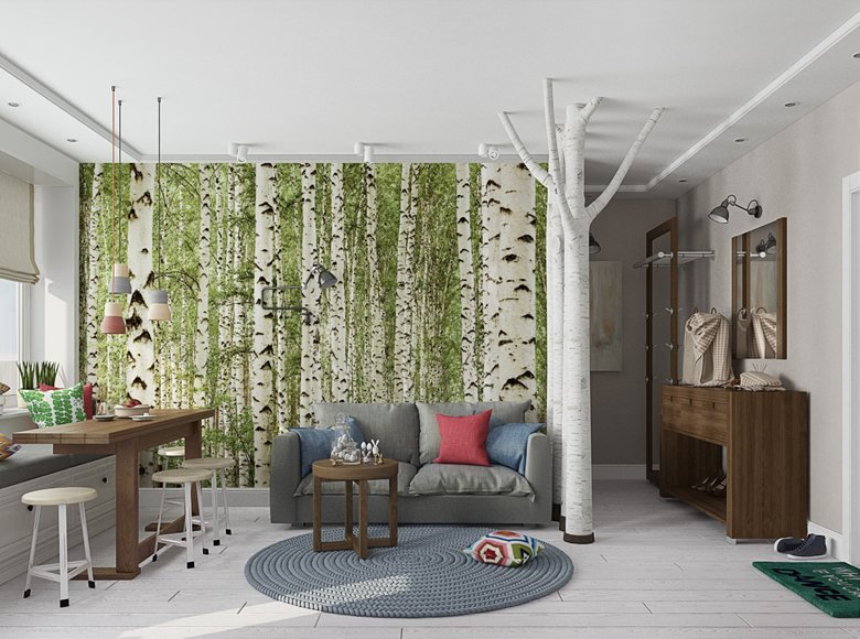 Forest apartment