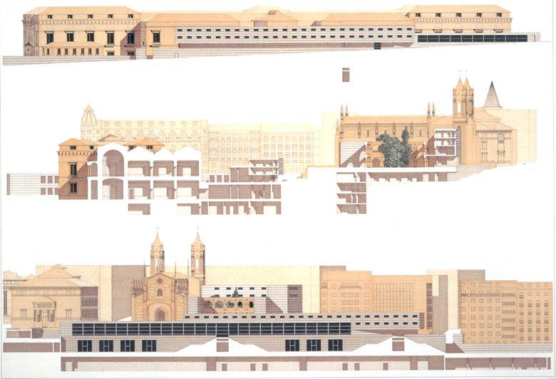 ampliamento del museo del Prado a Madrid