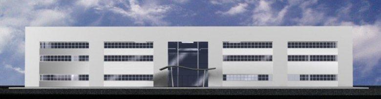 studio per la realizzazione di un fabbricato industriale