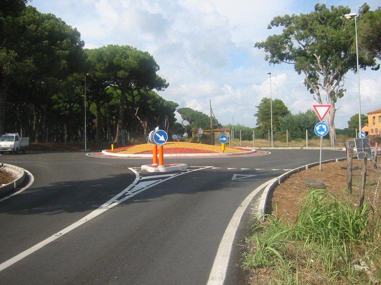 Sistemazione svincolo stradale