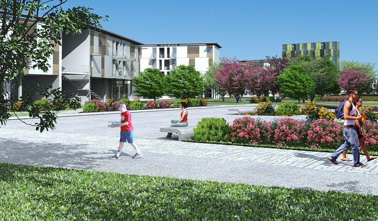 Piano di recupero urbano di Ponticelli, Napoli -  Sub-Ambito 2