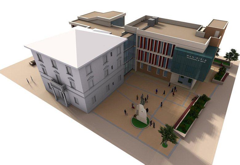 Ampliamento e ristrutturazione sede comunale di Calderara di Reno (BO)