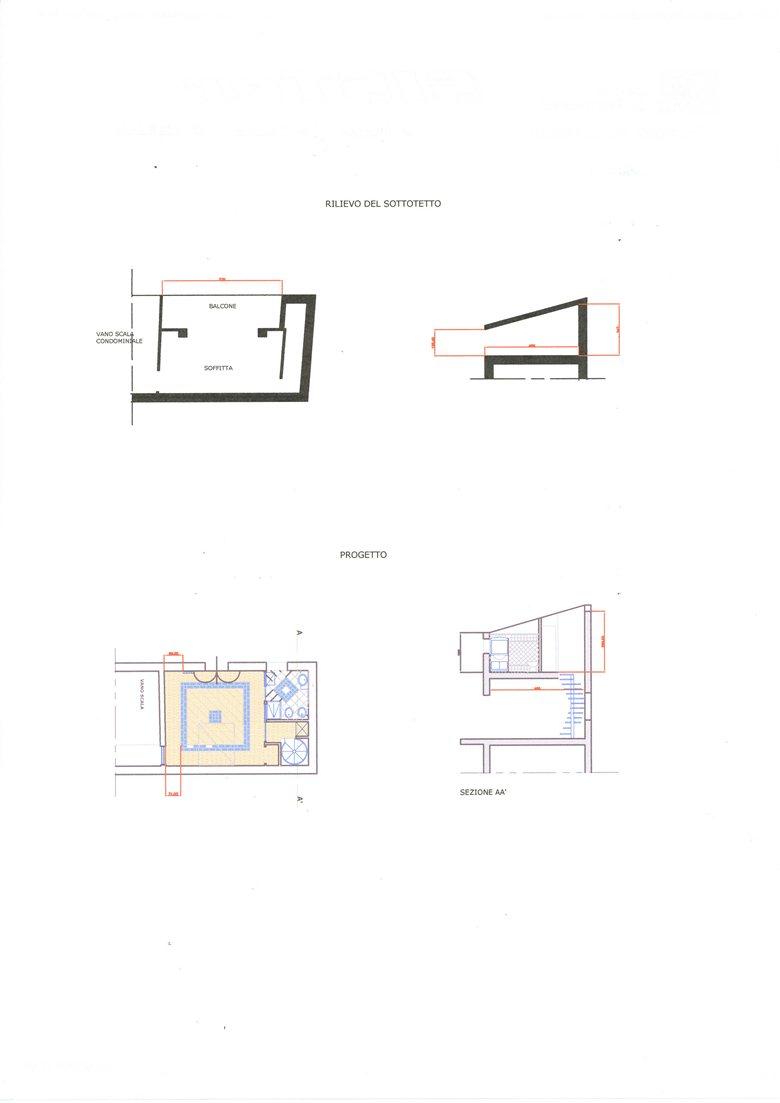 Trasformazione Sottotetto In Abitazione luisella franchi - architect rome / italy