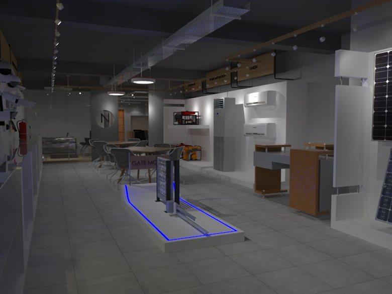 Electric Appliances Display Shop