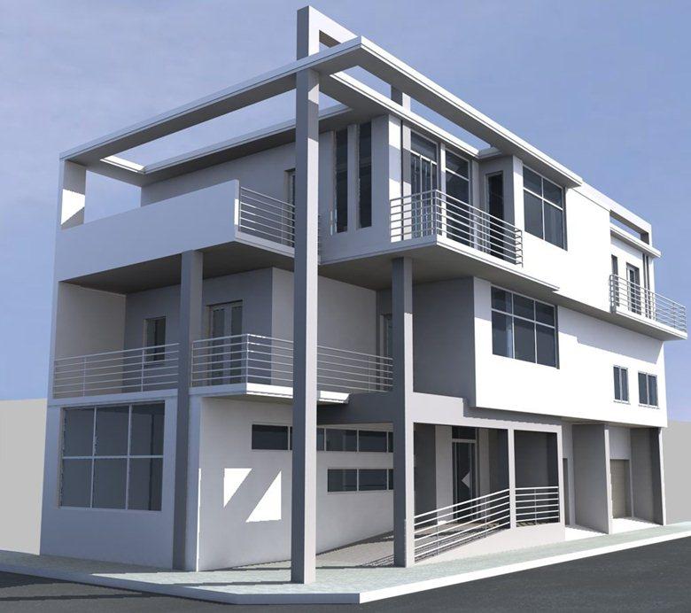 Progetto edificio adibito a civile abitazione