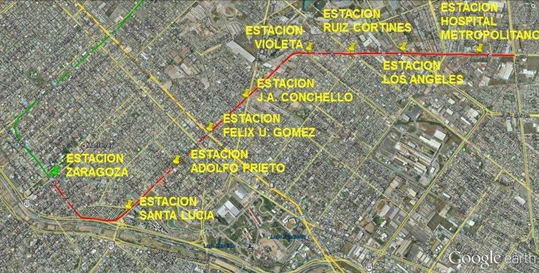 Estaciones Elevadas, Metrorrey Linea III