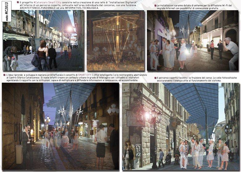 Concorso di idee per la valorizzazione del centro storico di Catanzaro con la realizzazione di un'isola pedonale
