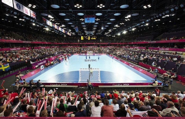 The Copper Box - London 2012 Handball Arena