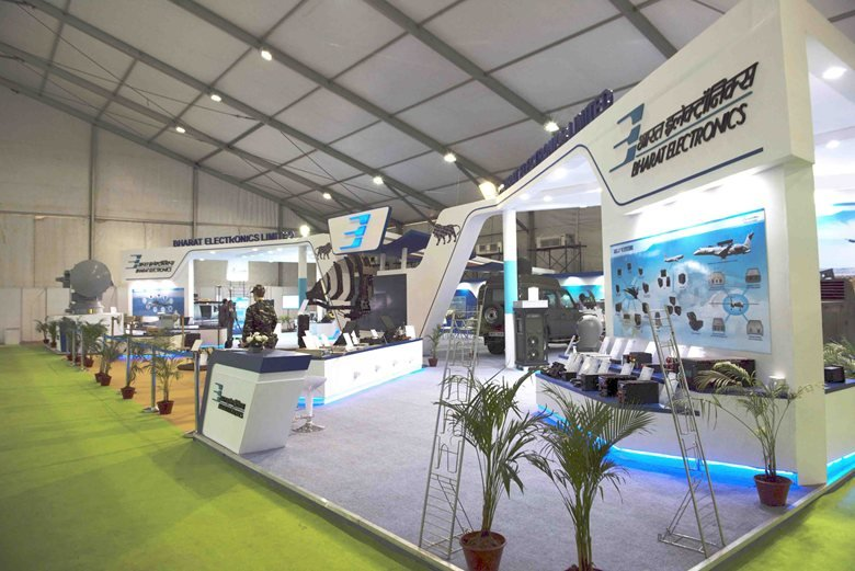 Exhibition Stand Design And Build Germany : Bharat electronics limited def expo exhibition stand build by xs